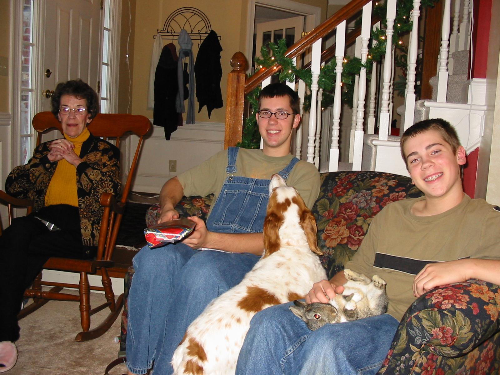 Grandma, Jonathan & Bryan